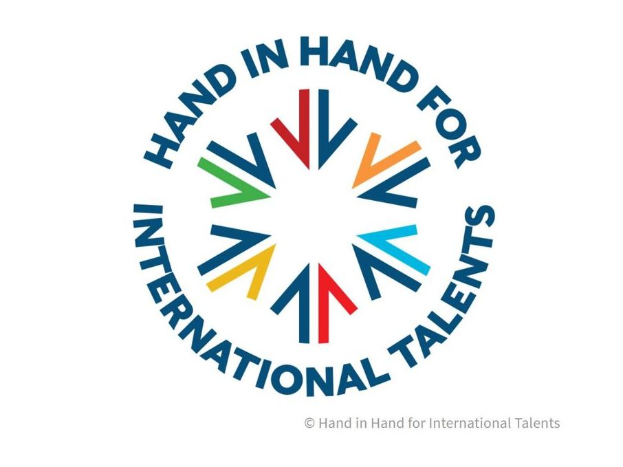 Logo: Hand in Hand for International Talents